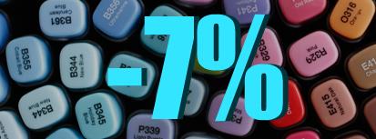 АКЦИЯ! Скидка 7% на весь раздел СКЕТЧИ