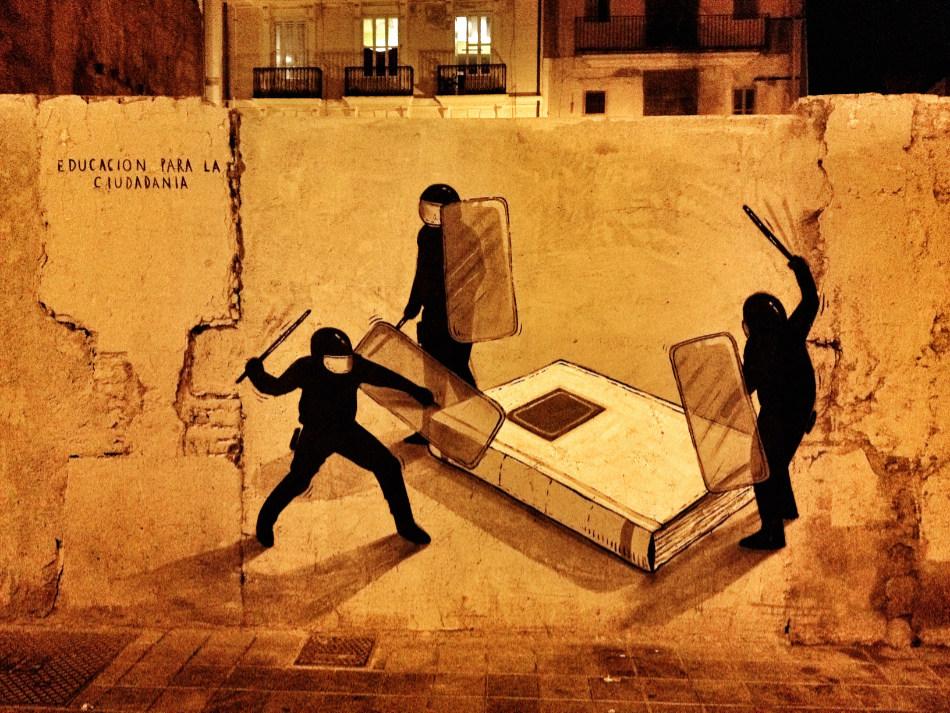 """Работа """"Educación Para La Ciudadanía"""" в Валенсии, Испания (2012)"""