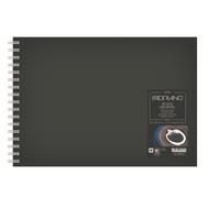 Блокнот для зарисовок BlackDrawingBook 190 г/мв 21x29,7 см черный 40л, фото 1