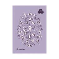 "Блокнот на спирали Palazzo Premium ""Lavanda"", 140 х 198 мм, плотность 160 г/м2, 30 л, тиснение ""Холст"", 40% хлопка, тёмно-розовый, фото 1"