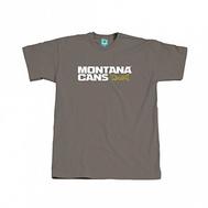 Футболка Montana лого тепло-серая размер М, фото 1