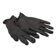 Перчатки MONTANA латекс черные M, фото 1