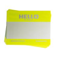 MONTANA Набор желтых стикеров (5 штук)