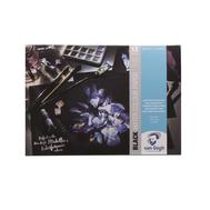 Альбом для акварели Van Gogh 360гр/м.кв 29.7х42см черная 12л (склейка), фото 1