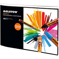 Скетчбук Molotow One4All Professional Sketchpad A4, фото 1
