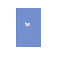 Скетчбук White Stripe Notebook blue A5, фото 1