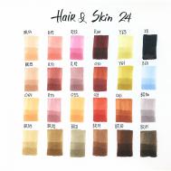 Набор маркеров SKETCHMARKER Hair&Skin set 24 - Оттенки волос и тела (24 маркера + сумка органайзер)