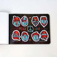 """Стикербук """"Parazitakusok 5 - PEACE"""", фото 2"""