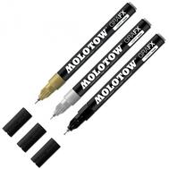 Маркер MOLOTOW Graf-X Fine-liner Золото 1 мм