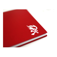 Скетчбук Pyromaniac A4 Красный
