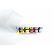 Набор маркеров FAT&SKINNY BRUSH Main Основные цвета 12 шт, фото 2