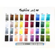 Набор маркеров SKETCHMARKER Fashion design 36 set - Дизайн одежды (36 маркеров + сумка органайзер), фото 2