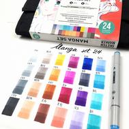 Набор маркеров SKETCHMARKER Manga set 24 - Манга набор (24 маркера + сумка органайзер), фото 2