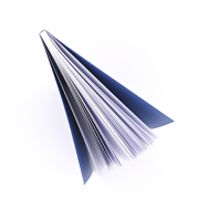 Скетчбук White Stripe Notebook blue A5, фото 2