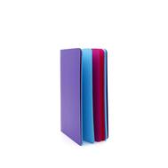 Скетчбук-книжка Фиолетовый А5 Розовая/Голубая бумага, фото 1