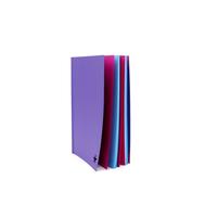 Скетчбук-склейка Фиолетовый A5 Розовая/Голубая бумага, фото 1