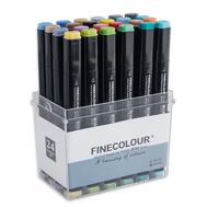 Набор Finecolour Brush 24 цвета