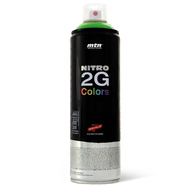 Краска аэрозольная Mtn NITRO 2G COLORS Хром-серебро 500 мл, фото 1