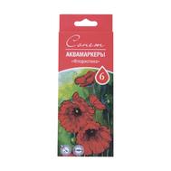 Сонет Набор Аквамаркеров Флористика 6 цветов, фото 1