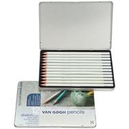 Набор чернографитных карандашей Van Gogh 12 шт, фото 1