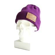 Шапка Hustle O! (leather) Фиолетовый Шерсть/ акрил, фото 1