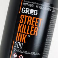 Чернила Grog Street Killer 200 мл Черные, фото 2