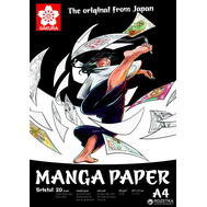 Блокнот для рисования Sakura Manga A4, фото 1