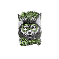 Стикеры от Fans. Хаски (зелёный), фото 1