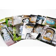 """Набор открыток """"Части целого #2"""" от NOMERZ"""