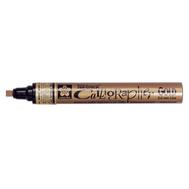 Маркер Pen-Touch Calligrapher Золотой толстый стержень 5 мм, фото 1