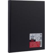 Блокнот для зарисовок Canson One 100г/кв.м 21.6*27.9см 100л твердая обложка черный, фото 1