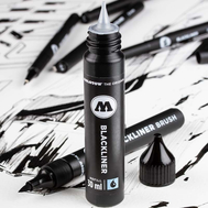 Набор BLACKLINER BRUSH (с заправкой)