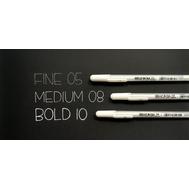 Ручка гелевая Gelly Roll (белая 1,0 мм), фото 2