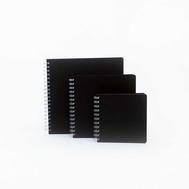 Скетчбук Seawhite Euro Black Microline Cover 140*140, фото 1