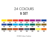 Набор Finecolour Liner 24 цвета (B), фото 2