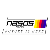 "Стикер NASOS ""Future is here"", фото 1"