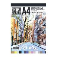 Альбом Склейка Sketchmarker Marker Pad A4, фото 1