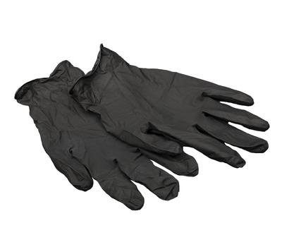 Перчатки MONTANA латекс черные L, фото 1