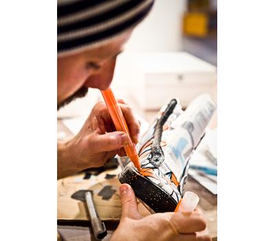 MONTANA Набор сменных перьев Acrylic fine 2mm - 6mm (5 штук, скошенные), фото 3