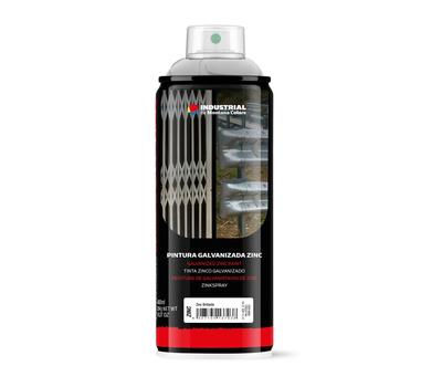 MTN INDUSTRIAL Clear Zinc краска цинковая 400 мл, фото 1