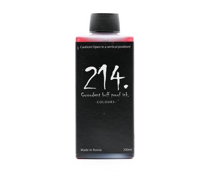 214 Ink красные Bloody Red 200 мл