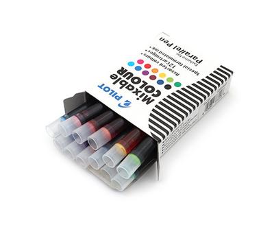 Pilot картридж для ручки уп. из 12шт разноцветные, фото 1