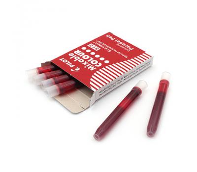 Pilot картридж для ручки уп. из 6шт красные, фото 1