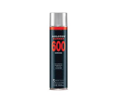 Краска аэрозольная MOLOTOW Burner Chrom 600 мл, фото 1