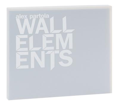 """Книга Алексея Партола """"Части Стен"""" (Wall Elements), фото 1"""