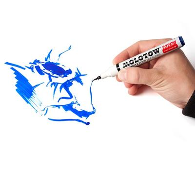 Перо MOLOTOW CALLIGRAFX Brush 200 1 мм (1 шт), фото 5