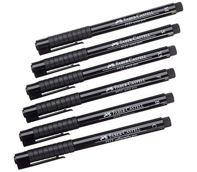 Ручка капиллярная Pitt Artist Pen Черная C, фото 4