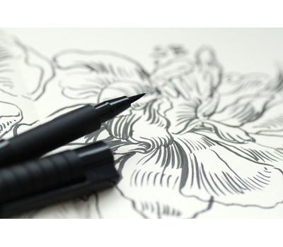 Ручка капиллярная Pitt Artist Pen Черная S, фото 5