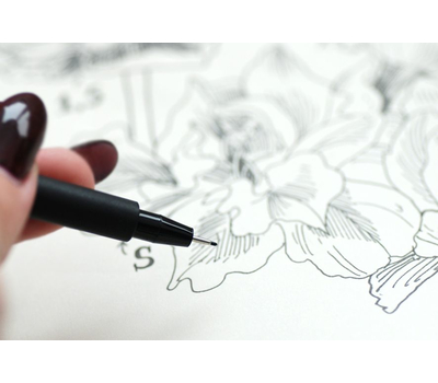 Ручка капиллярная Pitt Artist Pen Черная C, фото 7
