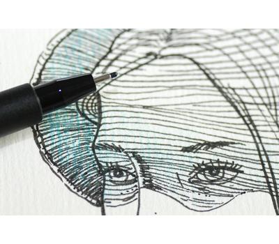 Ручка капиллярная Pitt Artist Pen Черная M, фото 5